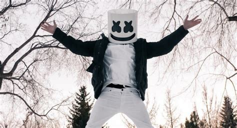 marshmello identity marshmello removes helmet to reveal will ferrell in san