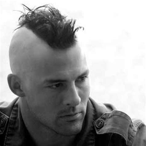 short spiked fohawk mens 30 mohawk hairstyles for men mohawks haircuts and