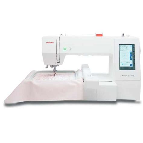 Janome Memory Craft janome memory craft 400e embroidery machine at ken s sewing center