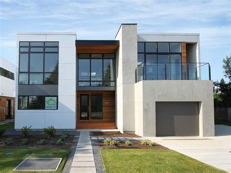 modern home exteriors white rock house ii modern exterior seattle by