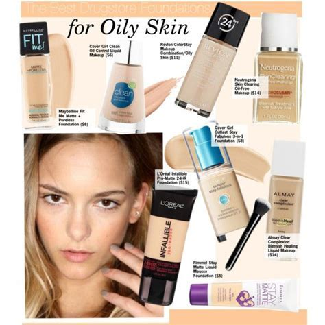 The Best Drugstore Foundations for Oily Skin by kusja on