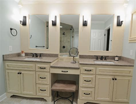 Bathroom Vanities Makeup Area Bathroom Vanities With Makeup Area Pertaining To Your House Bathroom Tyouyaku Single