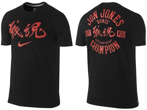 Tshirt Nike Jones nike jon jones warrior spirit t shirt fighterxfashion