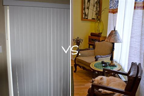 how to hang curtains in an apartment mr kate mr kate quickie goodbye ugly vertical blinds diy
