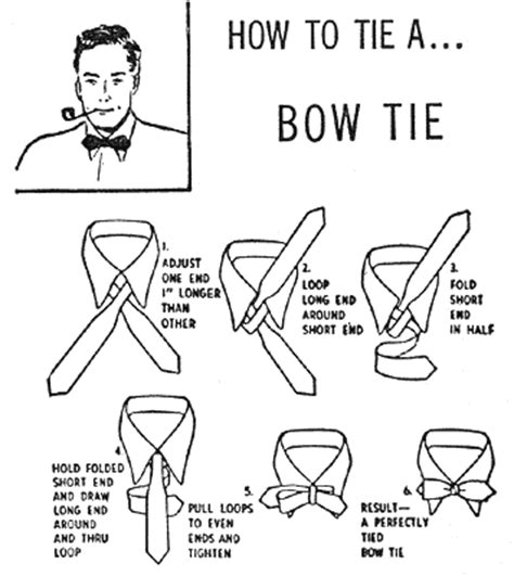 How To Make A Bow Tie Out Of Paper - how to tie a