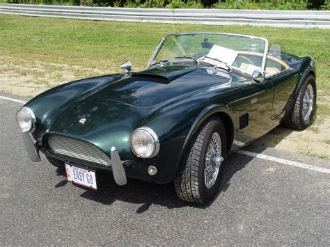 1960 ford shelby cobra 1964 shelby cobra green front angle