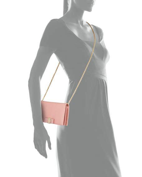 Miss Vara salvatore ferragamo miss vara bow clip wallet on a chain
