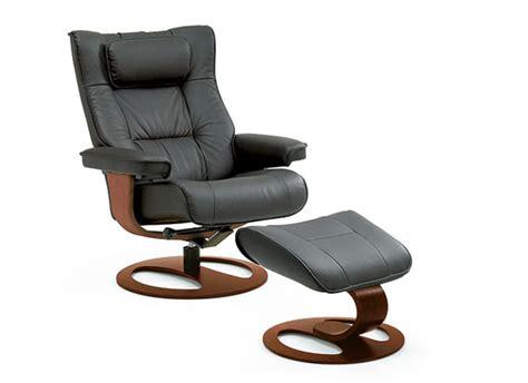 ergonomic recliner and ottoman fjords regent ergonomic recliner and ottoman small