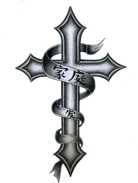 crosses with banners tattoos designs welcome tattoostime bluehost