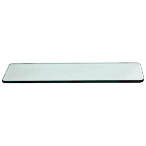 home depot glass shelves floating glass shelves 3 8 in rectangle glass corner shelf price varies by size r1024 the