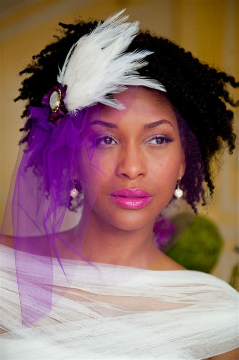 a hair inspiration for brides to be afrobella