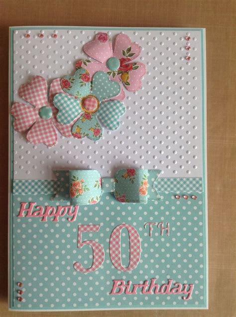 Handmade 50th Birthday Card Ideas - 25 best ideas about 50th birthday cards on