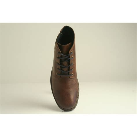 leather boot laces rieker rieker brown leather lace up boot with elasticated