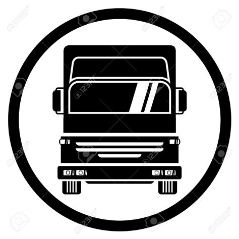 free truck logo clipart truck pencil and in color logo clipart truck