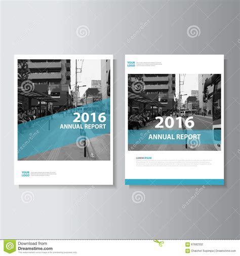 green vector magazine annual report leaflet brochure flyer