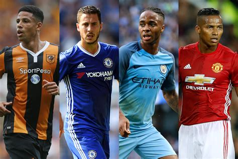 premier league players best hair vote for ea sports player of the month