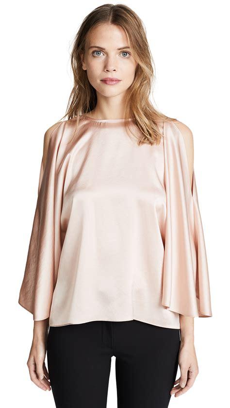 ramy brook blouse in blush wardrobelooks