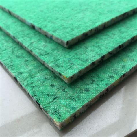 Carpet Padding Recycling by Foam Adhesive Backed Secondary Carpet Backing