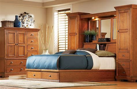 bedroom furniture sonoma valley king wall bed