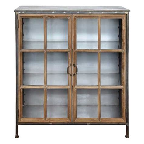 wood and glass cabinet metal wood cabinet w glass 28 da6148