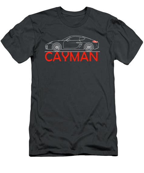 Porsche Shirts Sale by Porsche Cayman Phone Case T Shirt For Sale By Mark Rogan