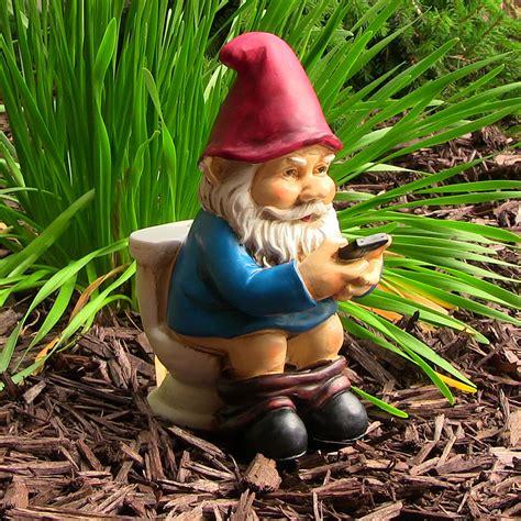 sunnydaze garden gnomes lawn statuesaccentdecor