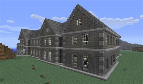 minecarft house mount falcon manor house minecraft building inc