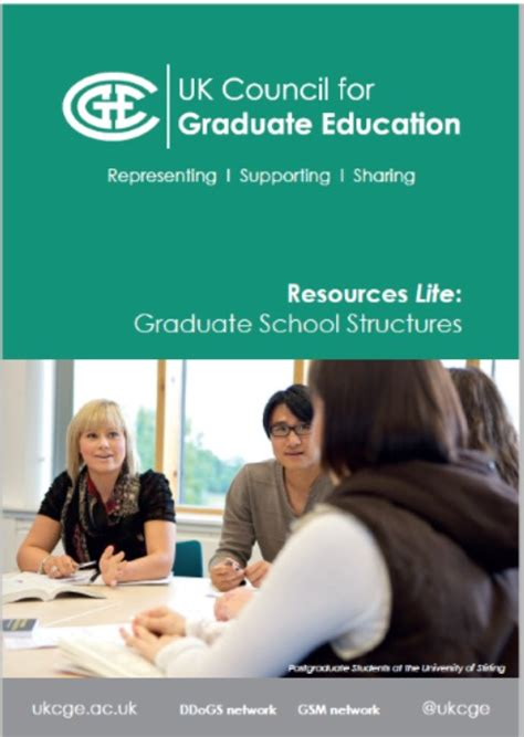 lite resource published on graduate school structures