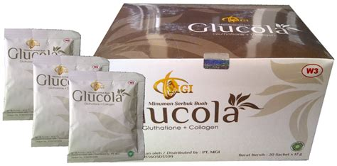 Glucola Collagen manfaat glucola minuman glutathione collagen zona keren