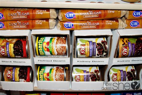 Can Organizer For Pantry by Organized Pantry Canned Food Problem Solved How Does She