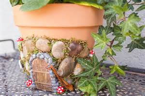 diy fairy house planter project crafts unleashed