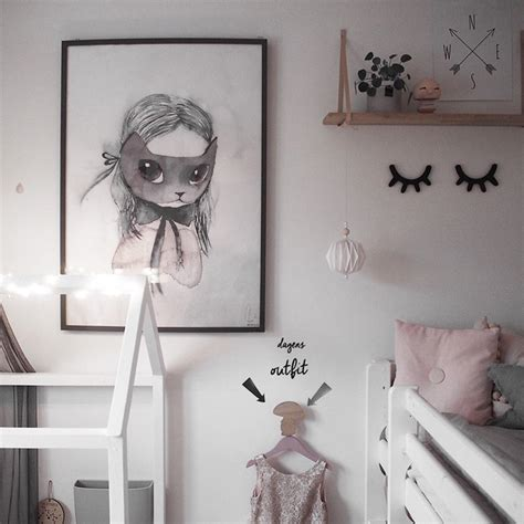 The Sweetest Girl's Nordic Room from Instagram Petit & Small