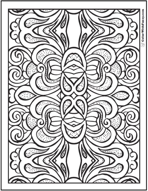 pattern coloring pages for adults pattern coloring pages customize pdf printables