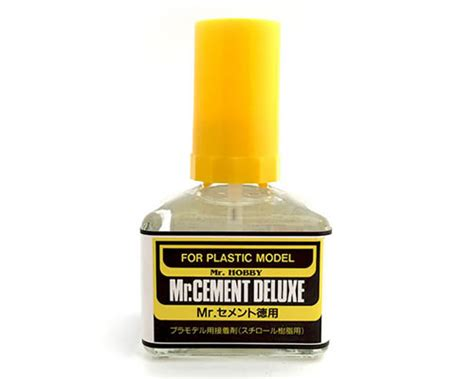 Mr Cement Limonene Mc 130 mrhobby colla deluxe 40 ml cercamodellismo it