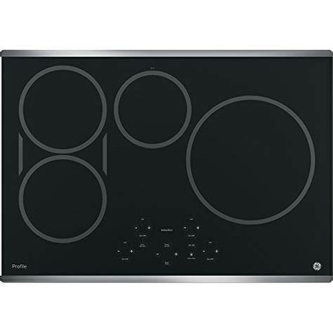 Ge 30 Inch Induction Cooktop ge profile php9030sjss 30 inch induction cooktop in stainless steel induction cooktops