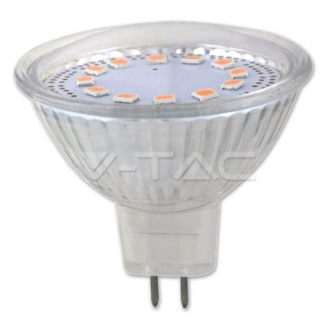 Lu Led Mitsuyama 7w T1910 11 mr16 3w led крушка 12v стъклена