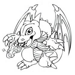 dragon dessiner az coloriage