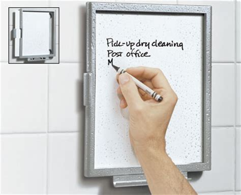 Shower Notepad by Take Notes In The Shower The International Center For