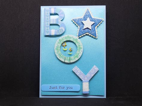 Cards Handmade - new baby boy card handmade cards shropshire