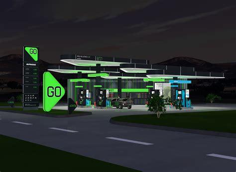 go design go service station m p arquitectos