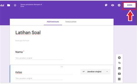 cara membuat kuesioner kuantitatif cara membuat kuesioner online menggunakan google form