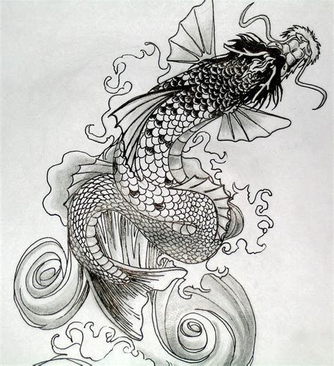 dragon koi fish tattoo koi tattoos designs ideas and meaning tattoos for you