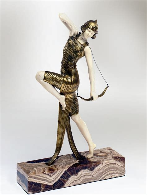 sculptures and figurines bringing art deco decorating a bronze and ivory by joe descomps quot danseuse 224 l arc