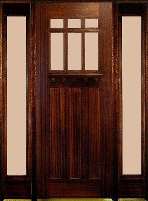 8 Foot Exterior Doors Rustic Dmc93 Mahogany 8 Foot 3 Panel Shelf Rustic Entry Doors