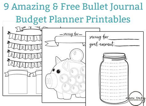 Free Bullet Journal Printables Pdf