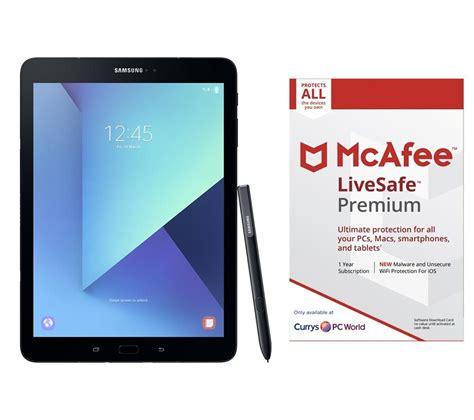 Samsung Galaxy Tab S3 9 7 9 7 Inch Inci Ram 4gb 32gb buy samsung galaxy tab s3 9 7 quot tablet livesafe premium