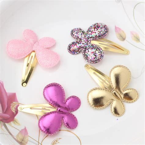 hair accessories children baby beautiful pink baby hair accessories sequins butterfly