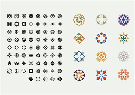 thai pattern font busaba eathai on behance