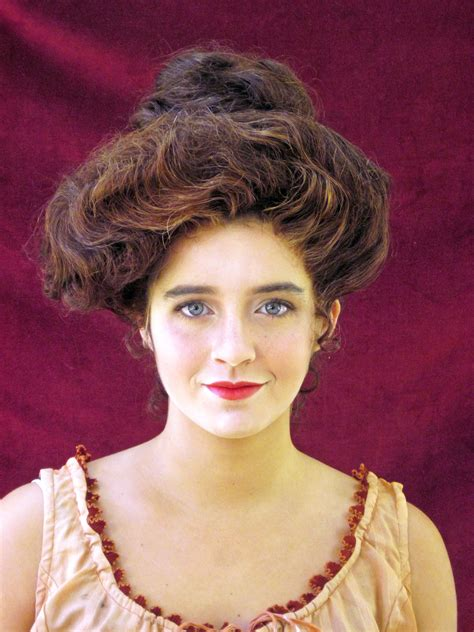 how to style hair for 1900 maur gibson girl the ladies of 2 318