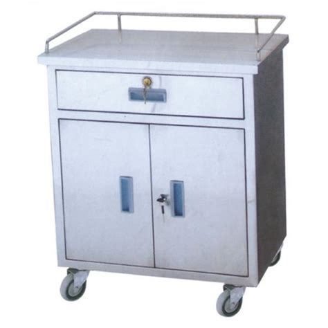 Stainless Steel Cart With Drawer by Stainless Steel Hospital Emergency Collecting Cart Steel